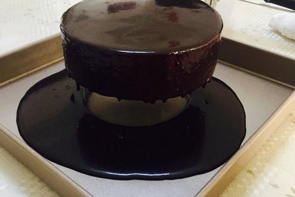黑天鹅蛋糕,实力与颜值并存第十一步