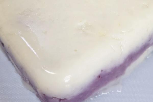 山药夹心蓝莓钵仔糕——细腻香浓的饭后小甜点第七步