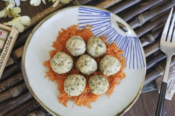 白萝卜菠菜肉丸——小小的身体藏着大大的营养第十二步