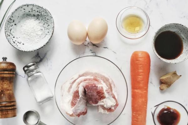 怪味鸡蛋肉卷——简单快手的美味早餐第一步