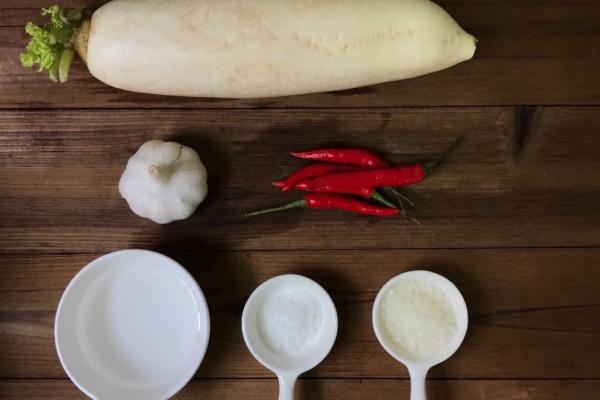 白萝卜腌咸菜,清脆爽口,好下饭第一步