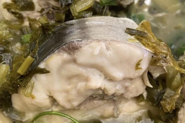雪菜一夜埕汤,肉质肥美,活色生香第八步