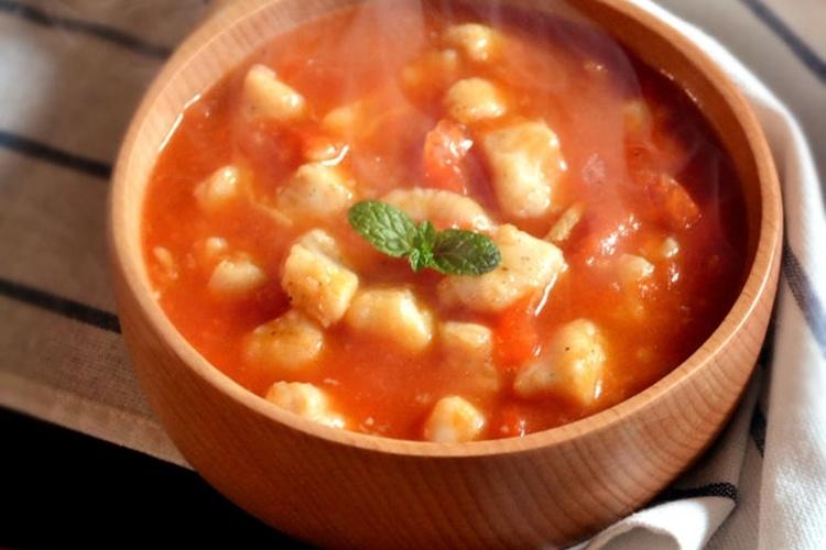 番茄龙利鱼,肉质鲜美,带着满满的番茄香