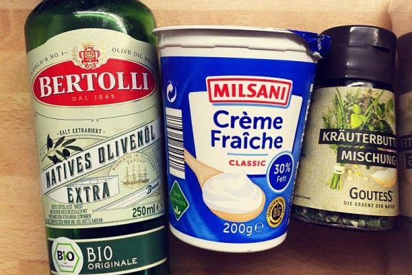 德国经典小吃——素炒蘑菇第一步