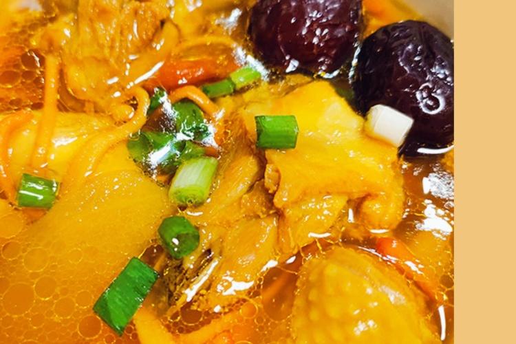 营养又美味,虫草花炖鸡汤
