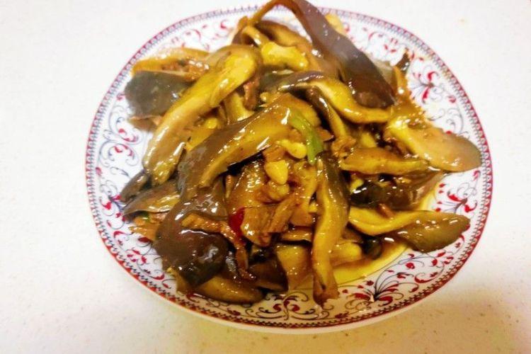 肉炒蘑菇,承包今日小食光